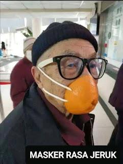 Gambar Lucu Berbagai Macam Masker di Negeri +62