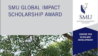 Global Impact Scholarship 2020 Singapore Management University