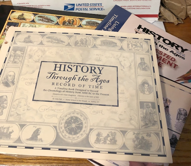 Review of world history timeline bundle