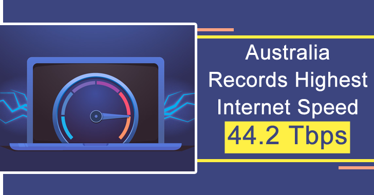 Australia Records Highest Internet Speed Ever with 44.2 Tbps – Download 1000 HD Movies With in a Seconds