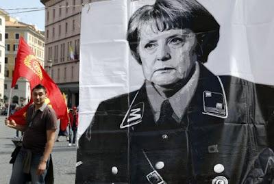 Germania - Il via al colpo di stato - Merkel spinge sulla dittatura