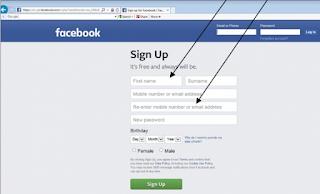 Fb Register New Account