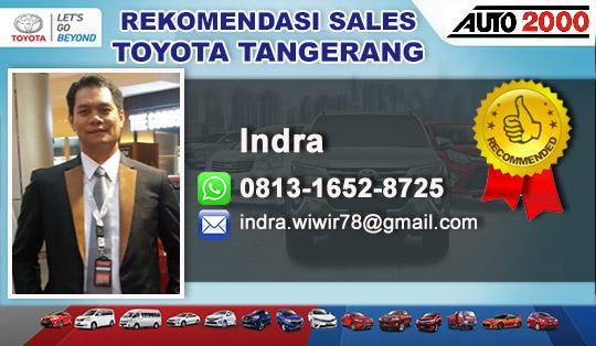 Rekomendasi Sales Toyota Bintaro Tangerang