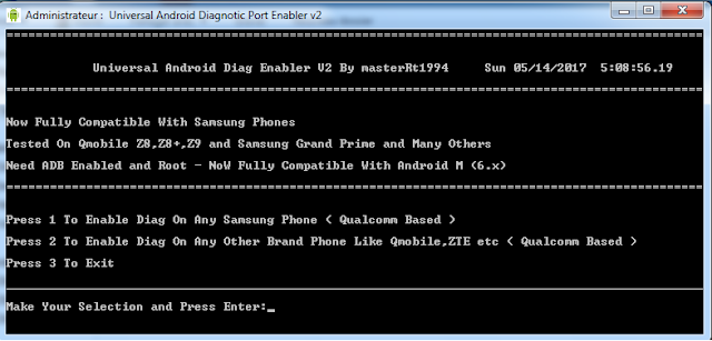 aporte Universal-Android-Diag-Enabler-V2 Samsung