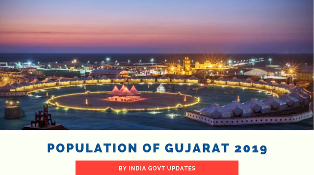 Population of Gujarat 2019