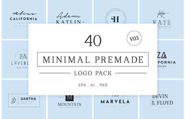 Download 640 Premade Logos Mega Bundle By XpertgraphicD Free ...