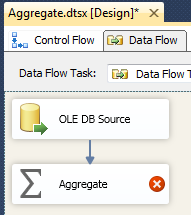 Add Aggregate Transformation