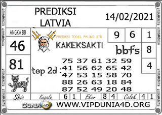 Prediksi Togel LATVIA DUNIA4D 14 FEBRUARI 2021