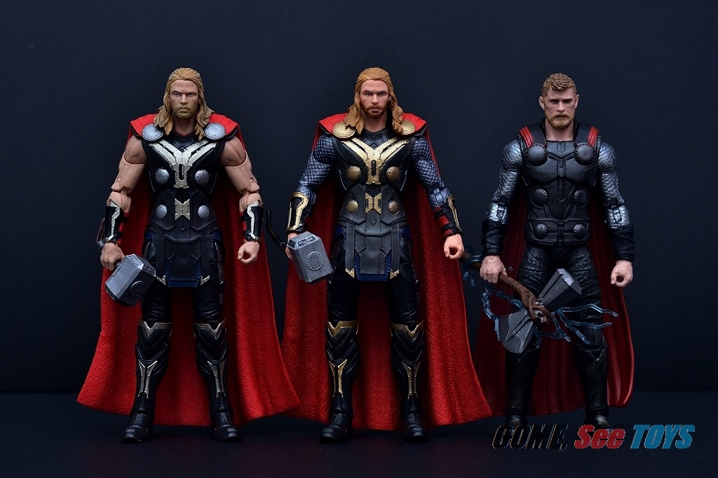 """Marvel Legends SIF 6/"""" Figure Thor The Dark World Studios The First 10 Ten Years"""