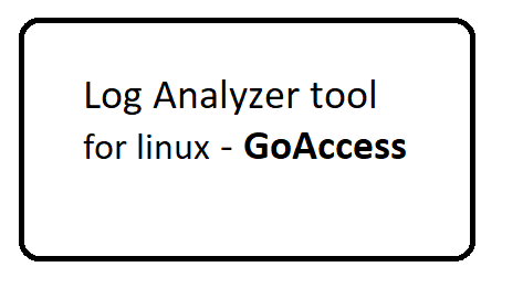 log analyzer tool for linux - GoAccess