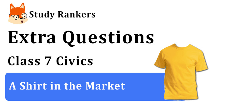 A Shirt in the Market Extra Questions Chapter 8 Class 7 Civics