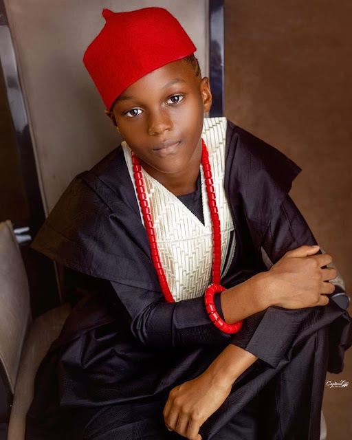 Singer, Paul Okoye shares lovely photos of his son, Andre, as he turns 8 years old today (Photos)
