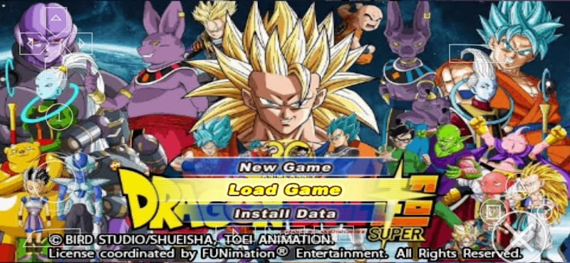 Dragon Ball Super TTT MOD ORIGINS BT3 ISO With Permanent