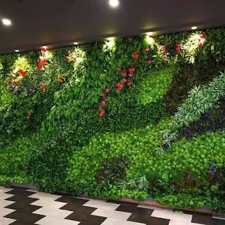 jasa pembuatan taman vertical garden tianggadha art