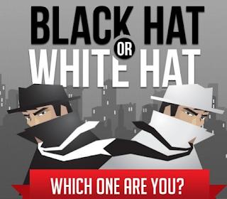 Black hat seo Or white hat seo Info Graphics - blackhat | whitehat