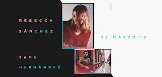 Concierto de Rebecca Sánchez y Samu Hernández en la Sala Alive