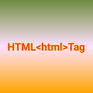 HTML <html> tag