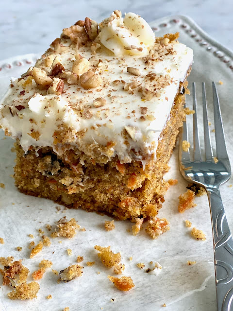 Loaded Carrot Cake with Cream Cheese Frosting Recipe