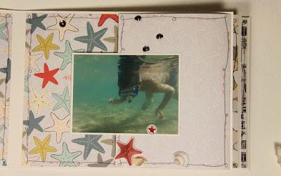 Скрапбукинг: отпускной альбом.