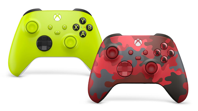 New Xbox Wireless Controller Color Designs look interesting - Now comes in Yellow Electric Volt and Daystrike Camo Special Edition | TechNeg