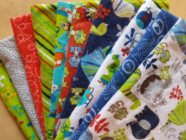Flannel fabrics | DevotedQuilter.blogspot.com