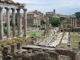 The Forum in Rome, overgrown and neglected in Biondo's time, is now a major tourist attraction