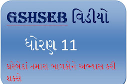 GSHSEB Video preparation for students std 11