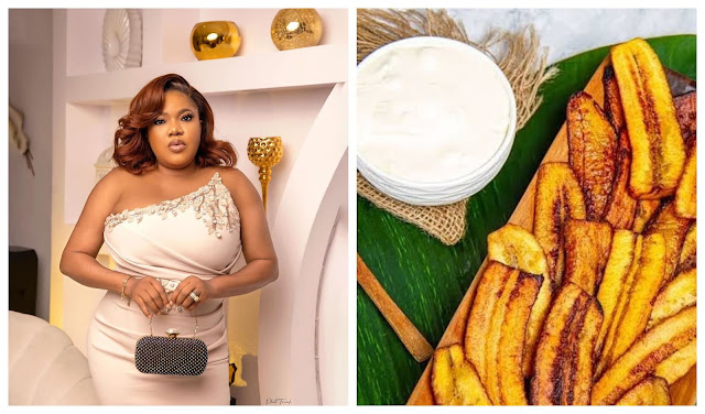 Drinking garri with dodo is my favorite meal – Toyin Abraham reveals