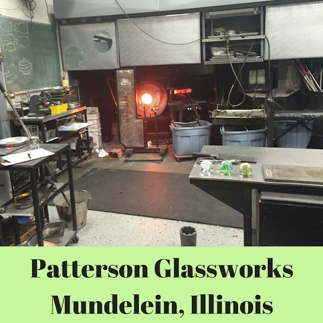Patterson Glassworks Hot Glass Studio in Mundelein, Illinois