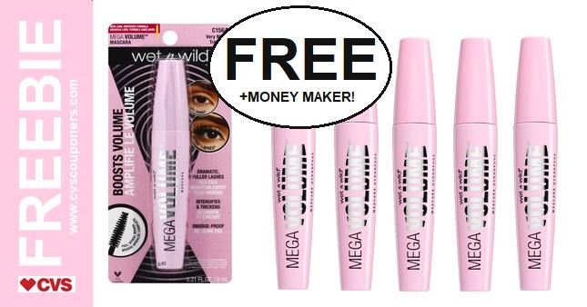 FREE Wet N Wild Mascara CVS Deal  6-30 7-6