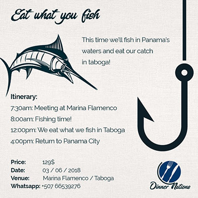 pesca panama eat what you fish