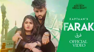 Checkout Kaptaan new song Farak lyrics penned by Deep Maahi