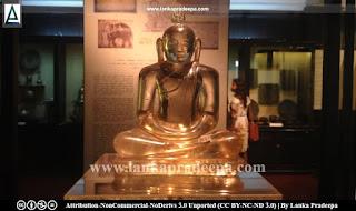 Dodantale crystal Buddha statue