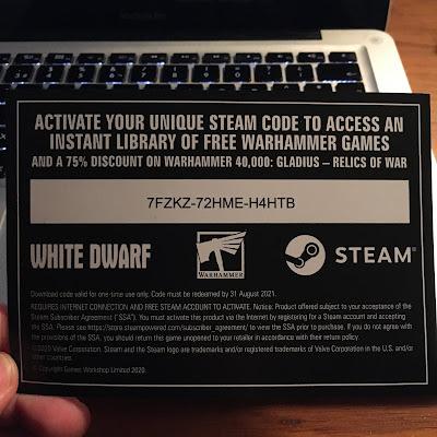 código Steam Warhammer