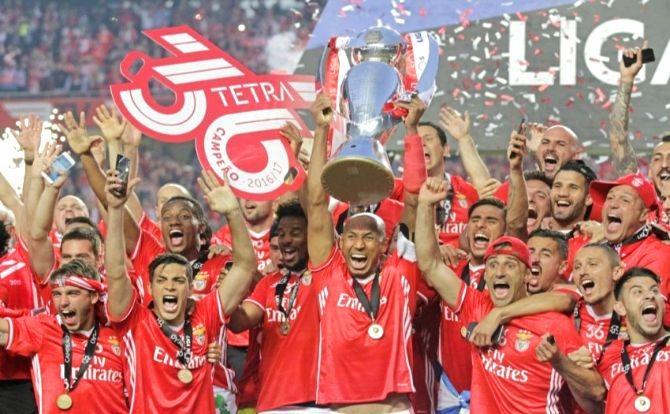 Benfica Luisão conquista do inédito Tetra
