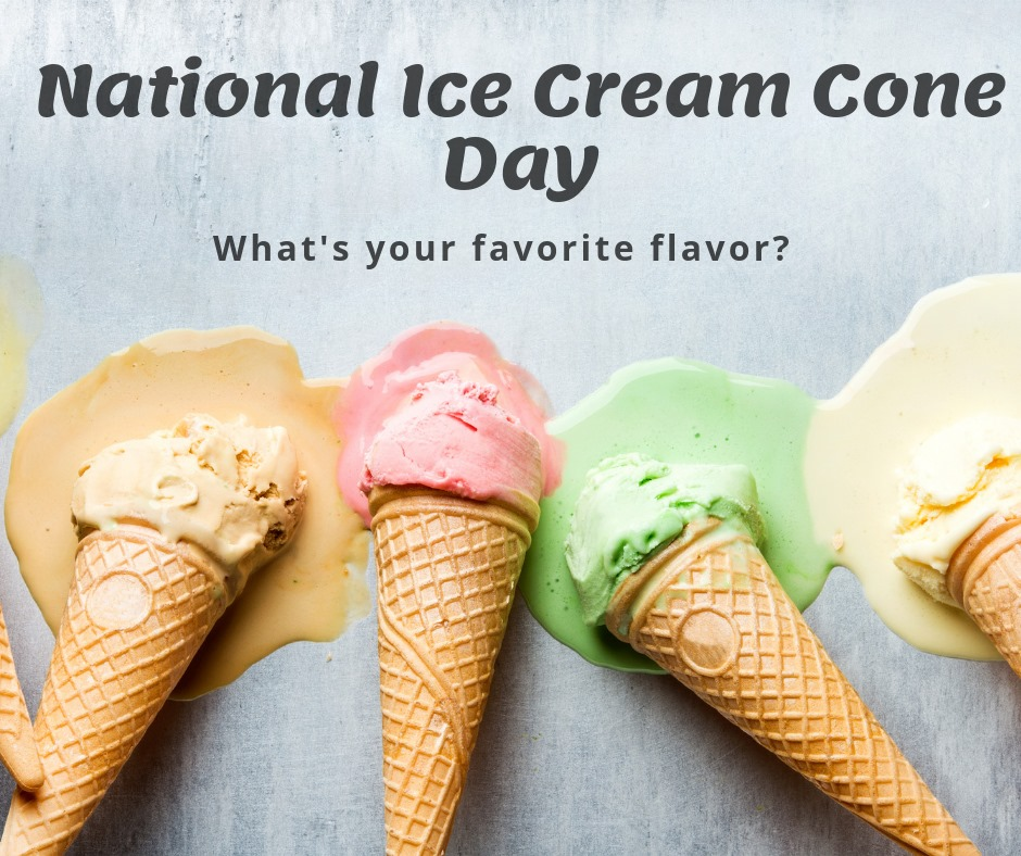 National Ice Cream Cone Day Wishes Lovely Pics