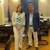 Συνάντηση Γ.Στέφου  με την Υφ. Παπανάτσιου για την παραχώρηση δημοσίου κτιρίου στην υπηρεσία νεωτέρων μνημείων Ηπείρου