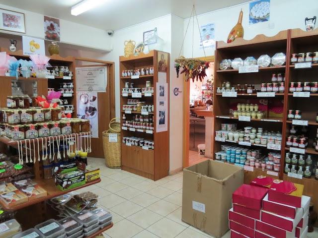 One week in Cyprus: Katerina Cyprus sweets shop in the Troodos region