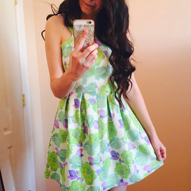 giani bini dress, floral dress, green and purple floral dress, pretty dresses, teen fashion, teen fashion outfits, ootd,