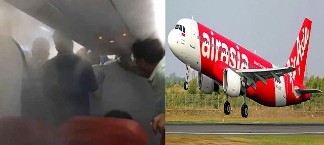 एयर एशिया के पायलट ने यात्रियों से की बदसलूकी, जबरन उतारने के लिए तेज कर दी AC..
