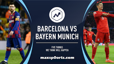 برشلونة ضد بايرن ميونخ