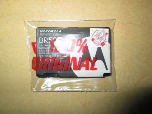 baterai Motorola BR50 jadul