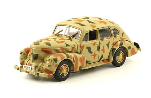 OPEL KAPITÄN 1:43, voitures militaires de la seconde guerre mondiale