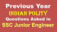 Previous Year Indian Polity Questions