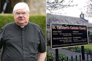 Catholic priest, 70. arrested after spending £50,000 of parish cash on his housekeeper lover
