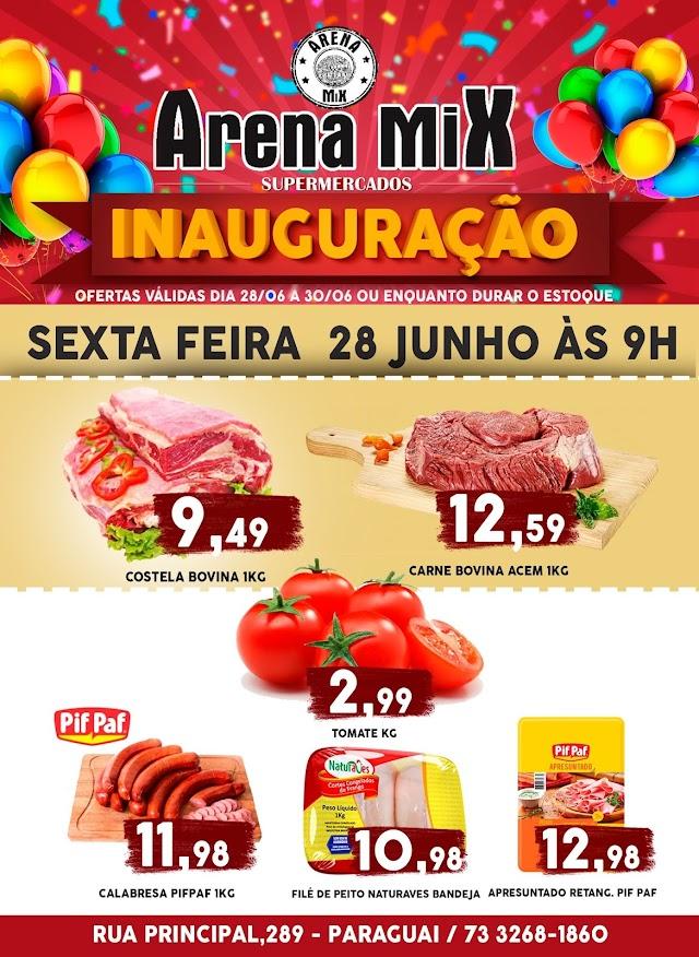 Corre aproveite as promoções de Inauguração do ARENA MIX no bairro Paraguai