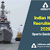 Indian Navy Recruitment 2020 Apply here: Sports Quota Entry