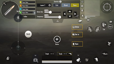 RRQ D2E PUBG Mobile settings