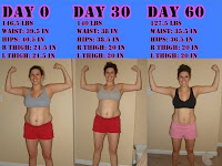 T25 womens transformations
