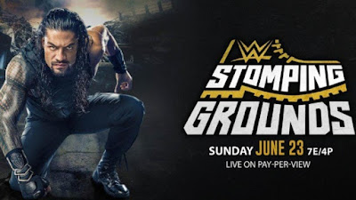 Poster Of WWE Stomping Grounds PPV 23rd June 2019 HDTV 480P 300MB